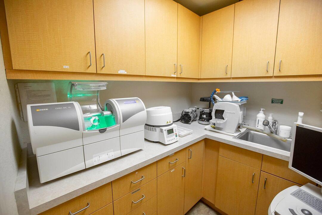 CEREC® CAD-CAM Machine in New Leaf Rohnert Park